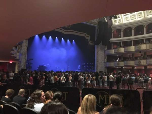 The Met Philadelphia, Bereich: Orchestra 9, Reihe: E, Platz: 6