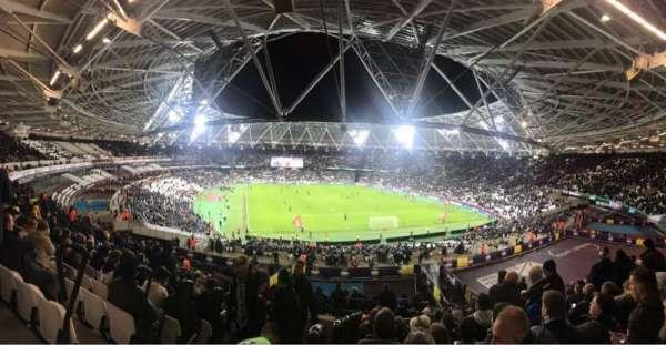 London Stadium, Abschnitt: 219, Reihe: 51, Platz: 83