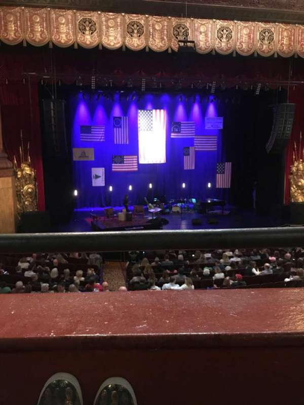 Beacon Theatre, Abschnitt: LOGE 1, Reihe: A, Platz: 3