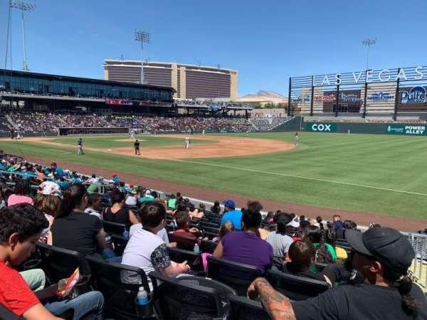 Las Vegas Ballpark, Abschnitt: 104, Reihe: N, Platz: 19-20