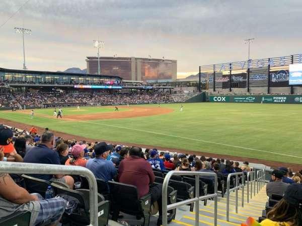 Las Vegas Ballpark, Abschnitt: 102, Reihe: R, Platz: 1-6