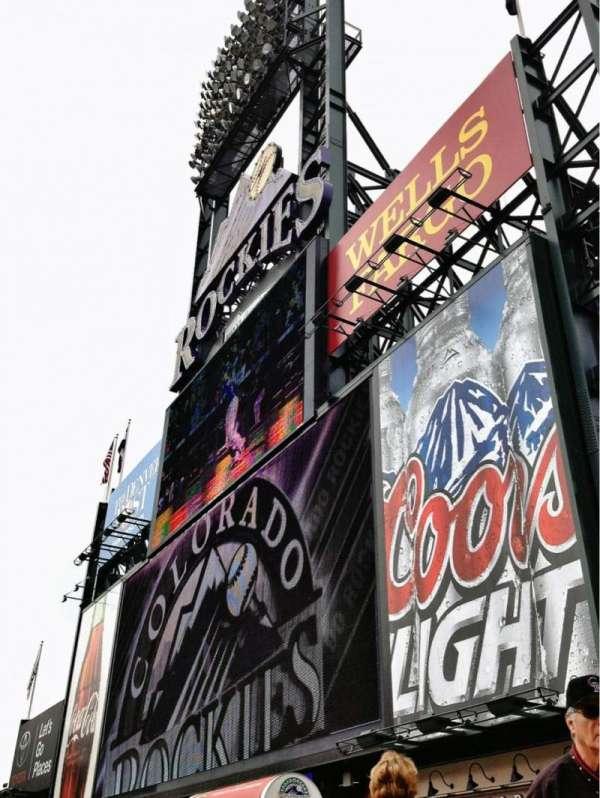 Coors Field, Abschnitt: 150