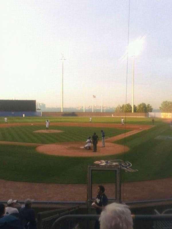 Richmond County Bank Ballpark, Abschnitt: 9, Reihe: 6, Platz: 1