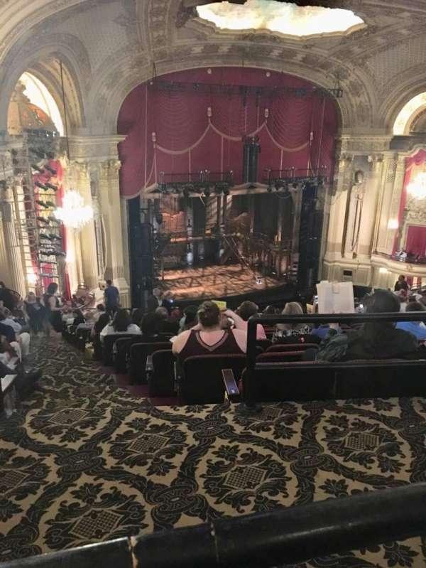 Boston Opera House, Abschnitt: BALLFT, Reihe: P, Platz: 43