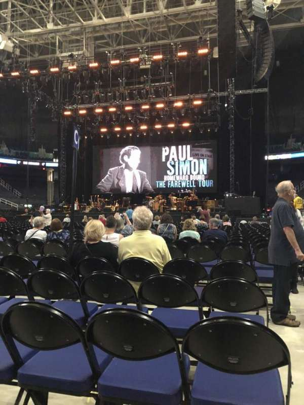 Greensboro Coliseum, Abschnitt: Floor C, Reihe: 25, Platz: 12