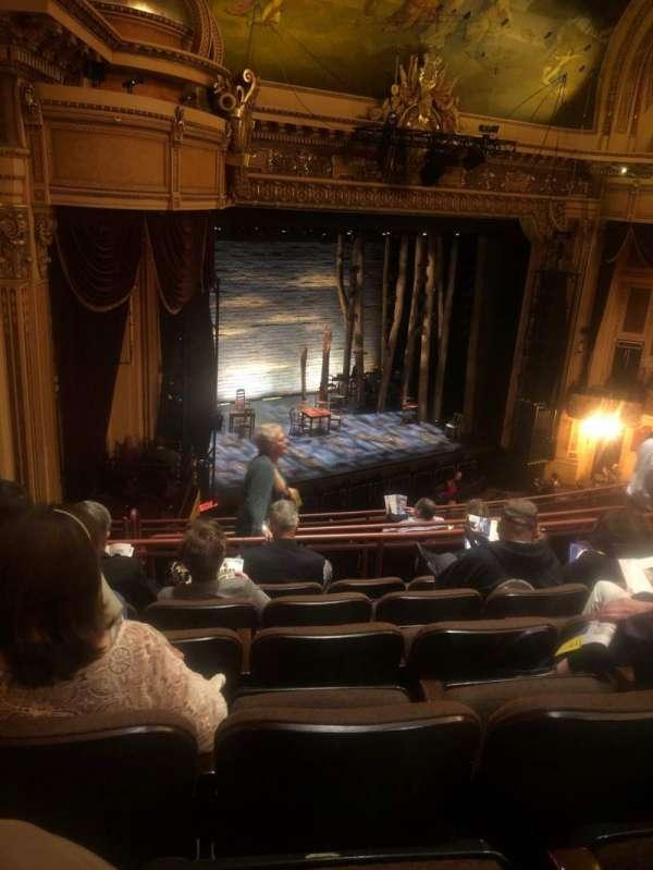 Hippodrome Theatre, Abschnitt: Left Middle Balcony, Reihe: J, Platz: 231