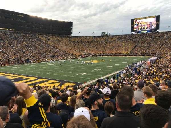 Michigan Stadium, Abschnitt: 8, Reihe: 25, Platz: 13