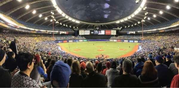 Olympic Stadium, Montreal, Abschnitt: 406, Reihe: A, Platz: 5