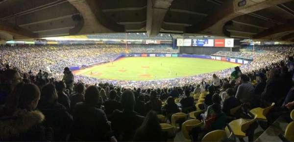 Olympic Stadium, Montreal, Abschnitt: 419, Reihe: AA, Platz: 15