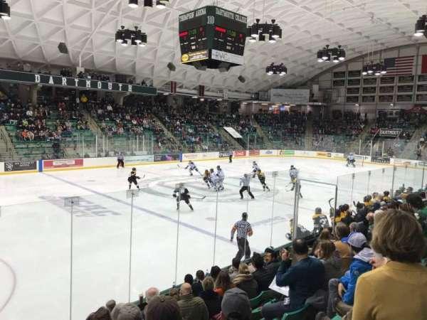 Thompson Arena, Abschnitt: 5, Reihe: H, Platz: 1