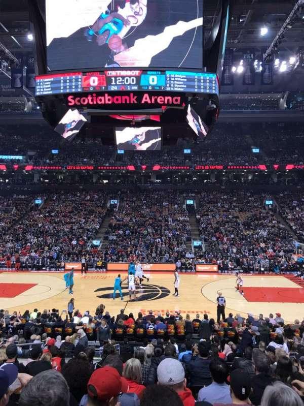 Scotiabank Arena, Abschnitt: 108, Reihe: 17, Platz: 7