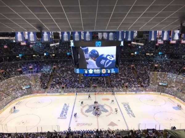 Scotiabank Arena, Abschnitt: 321, Reihe: 14, Platz: 17
