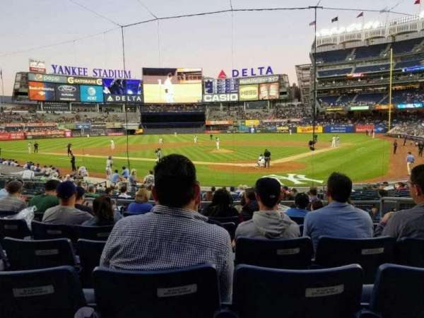 Yankee Stadium, Abschnitt: 121a, Reihe: 7, Platz: 4