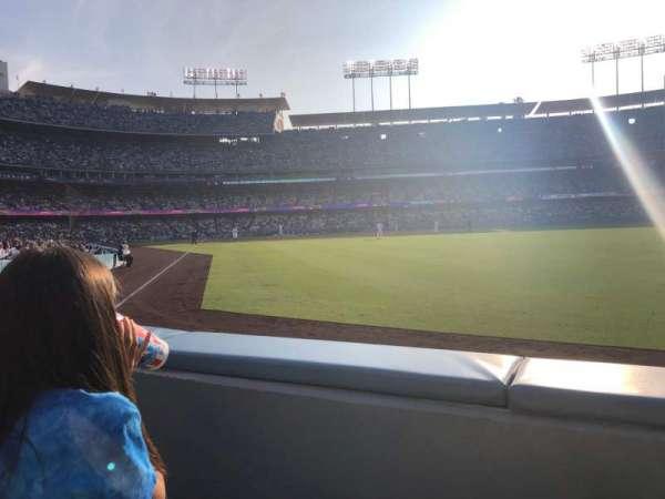 Dodger Stadium, Abschnitt: 50FD, Reihe: A, Platz: 4