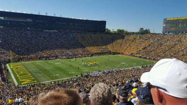 Michigan Stadium, Abschnitt: 5, Reihe: 86, Platz: 3