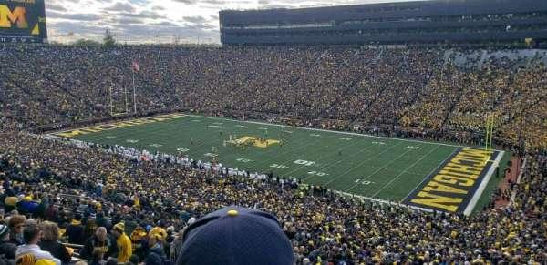 Michigan Stadium, Abschnitt: 40, Reihe: 89, Platz: 2