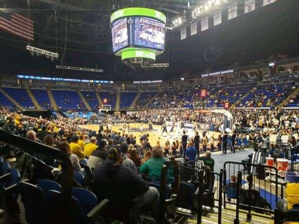 Bryce Jordan Center, Abschnitt: 101, Reihe: AA, Platz: 109