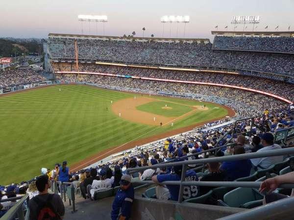 Dodger Stadium, Abschnitt: 45RS, Reihe: EE, Platz: 14