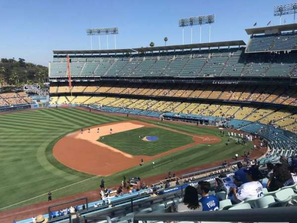 Dodger Stadium, Abschnitt: 31RS, Reihe: J, Platz: 1