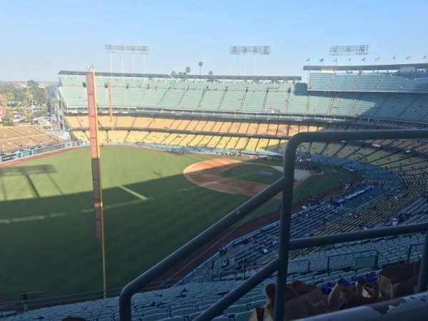 Dodger Stadium, Abschnitt: 53RS, Reihe: AA, Platz: 2