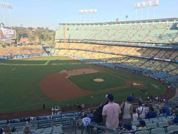 Dodger Stadium, Abschnitt: 27RS, Reihe: L, Platz: 1