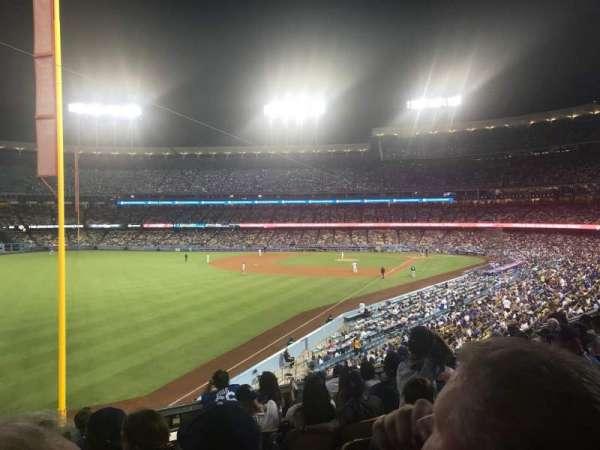 Dodger Stadium, Bereich: 163LG, Reihe: H, Platz: 2