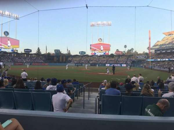 Dodger Stadium, Abschnitt: 5FD, Reihe: C, Platz: 3