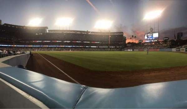 Dodger Stadium, Abschnitt: 48FD, Reihe: AA, Platz: 4