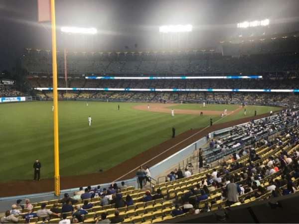 Dodger Stadium, Abschnitt: 163LG, Reihe: A, Platz: 1