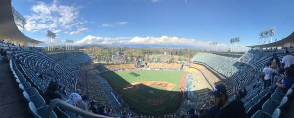 Dodger Stadium, Abschnitt: 3TD, Reihe: N, Platz: 20