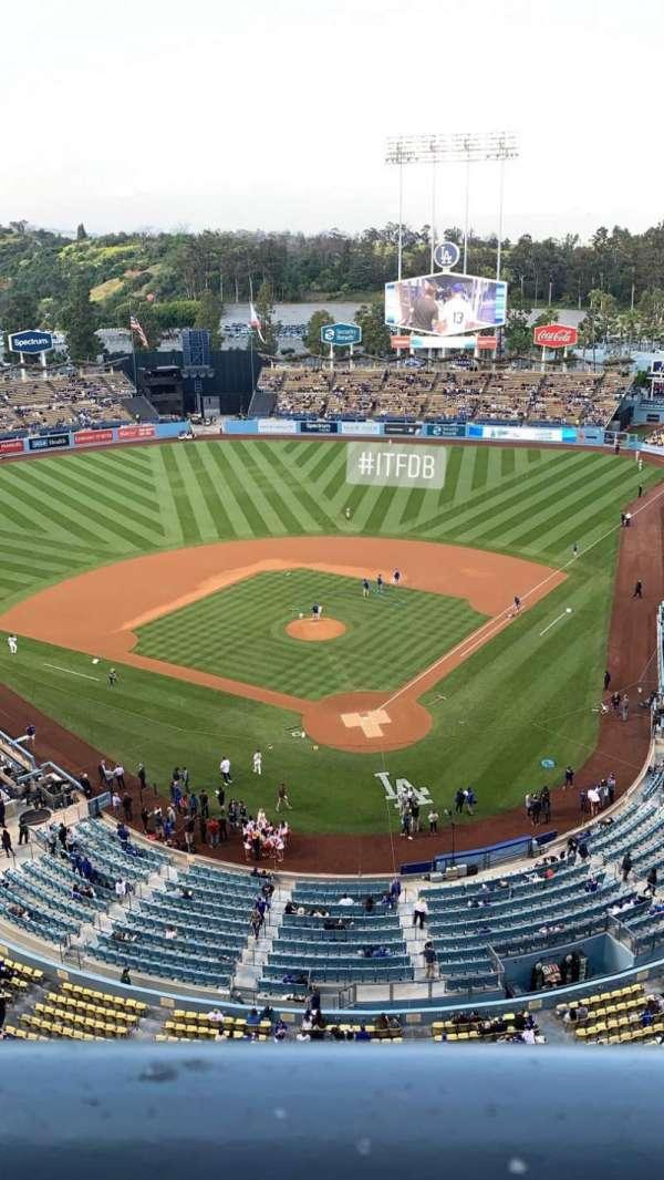 Dodger Stadium, Abschnitt: 5TD, Reihe: A, Platz: 1