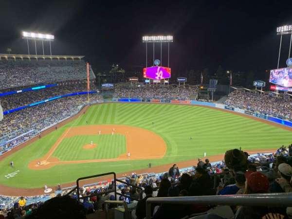 Dodger Stadium, Bereich: 12RS, Reihe: GG, Platz: 1