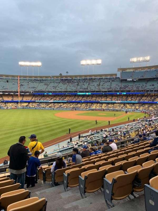 Dodger Stadium, Bereich: 161LG, Reihe: J, Platz: 2