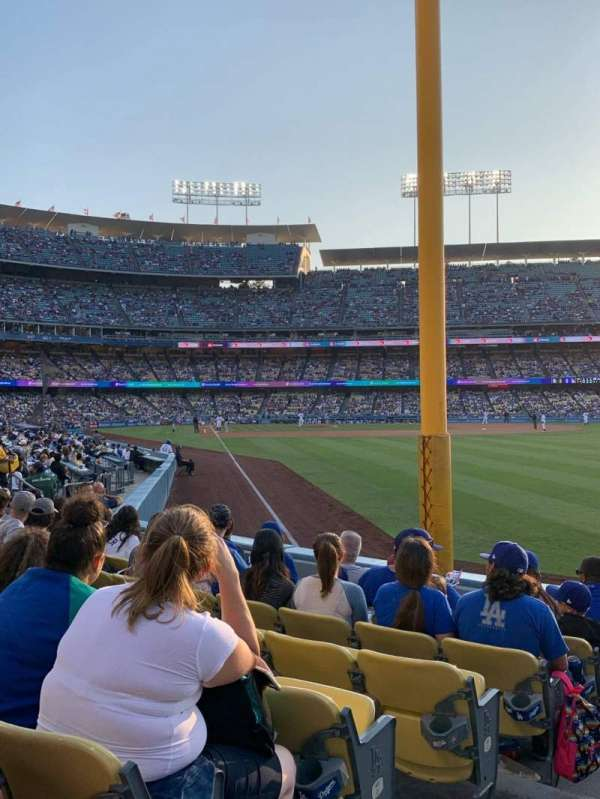 Dodger Stadium, Bereich: 50FD, Reihe: G, Platz: 1