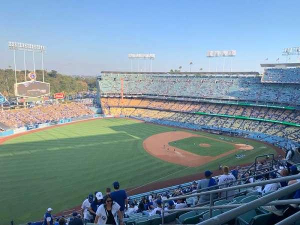 Dodger Stadium, Bereich: 41RS, Reihe: FF, Platz: 14