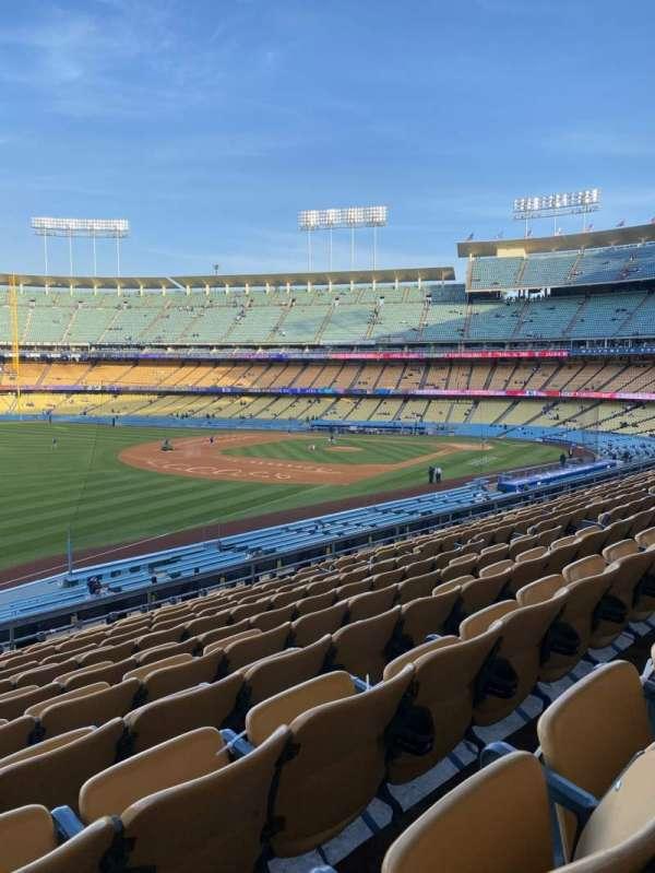 Dodger Stadium, Bereich: 157LG, Reihe: L, Platz: 14