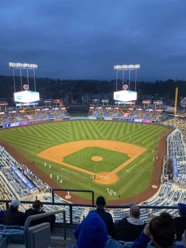 Dodger Stadium, Bereich: 3TD, Reihe: F, Platz: 18