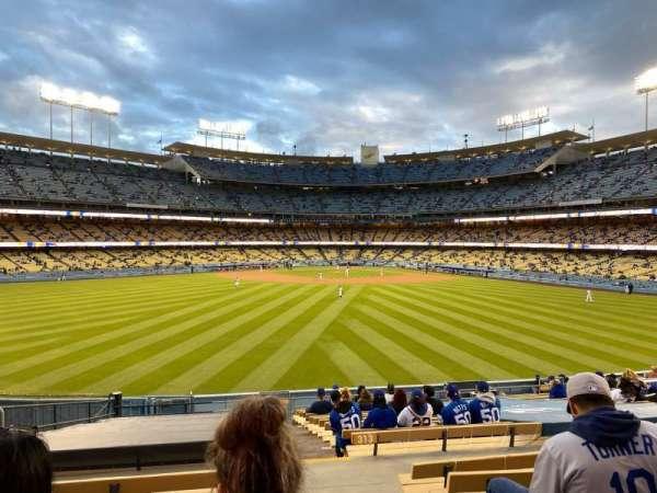 Dodger Stadium, Bereich: 315PL, Reihe: T, Platz: 1