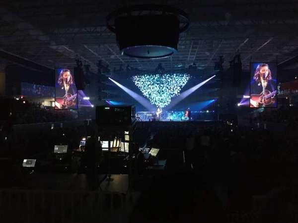 UPMC Events Center, Abschnitt: 110, Reihe: D, Platz: 6