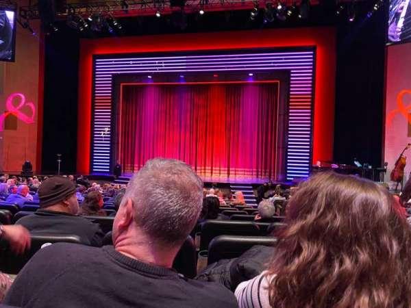 Penn & Teller Theater, Abschnitt: 2, Reihe: N, Platz: 4