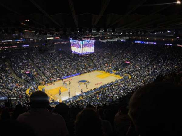 Oracle Arena, Abschnitt: 220, Reihe: 13, Platz: 7