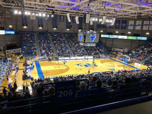 Alumni Arena (University at Buffalo), Abschnitt: 308, Reihe: A, Platz: 9