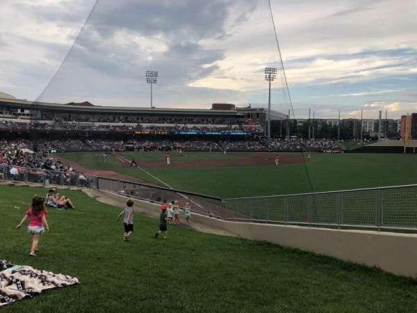 Fifth Third Field (Dayton), Abschnitt: Lawn, Reihe: A, Platz: 3