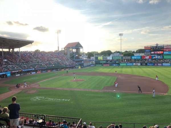 McCoy Stadium, Abschnitt: 1, Reihe: EE, Platz: 17