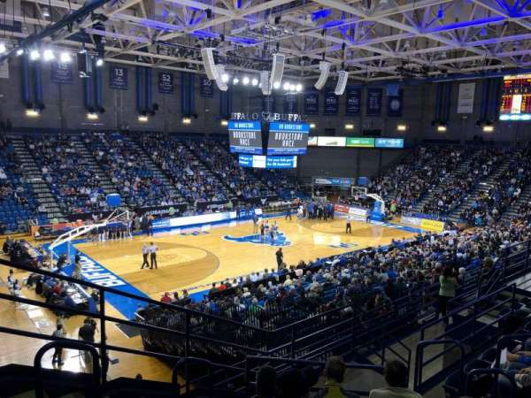 Alumni Arena (University at Buffalo), Abschnitt: 209, Reihe: G, Platz: 9