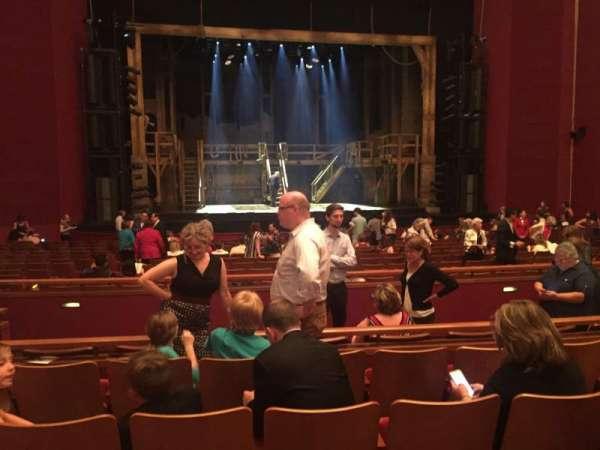 The Kennedy Center Opera House, Abschnitt: ORCH-CTR, Reihe: W, Platz: 123