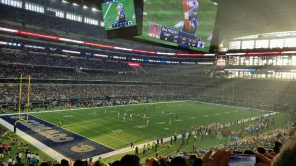 AT&T Stadium, Abschnitt: 242, Reihe: 11, Platz: 14
