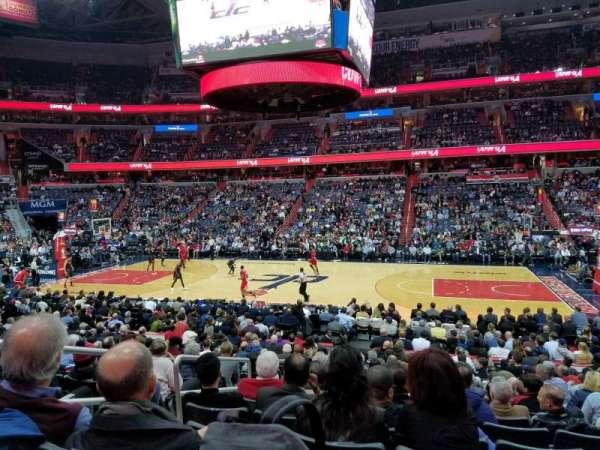 Capital One Arena, Abschnitt: 101, Reihe: Q, Platz: 4