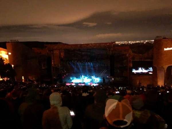 Red Rocks Amphitheatre, Reihe: 34, Platz: 53