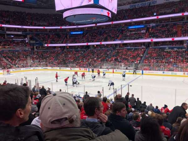 Capital One Arena, Abschnitt: 101, Reihe: Q, Platz: 19